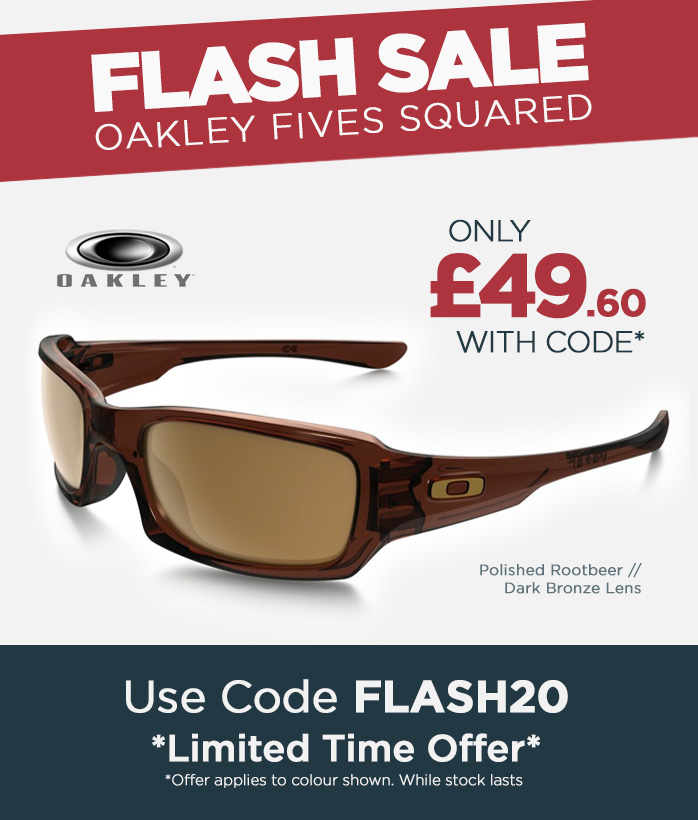 Flash Sale, Oakley Fives Squared