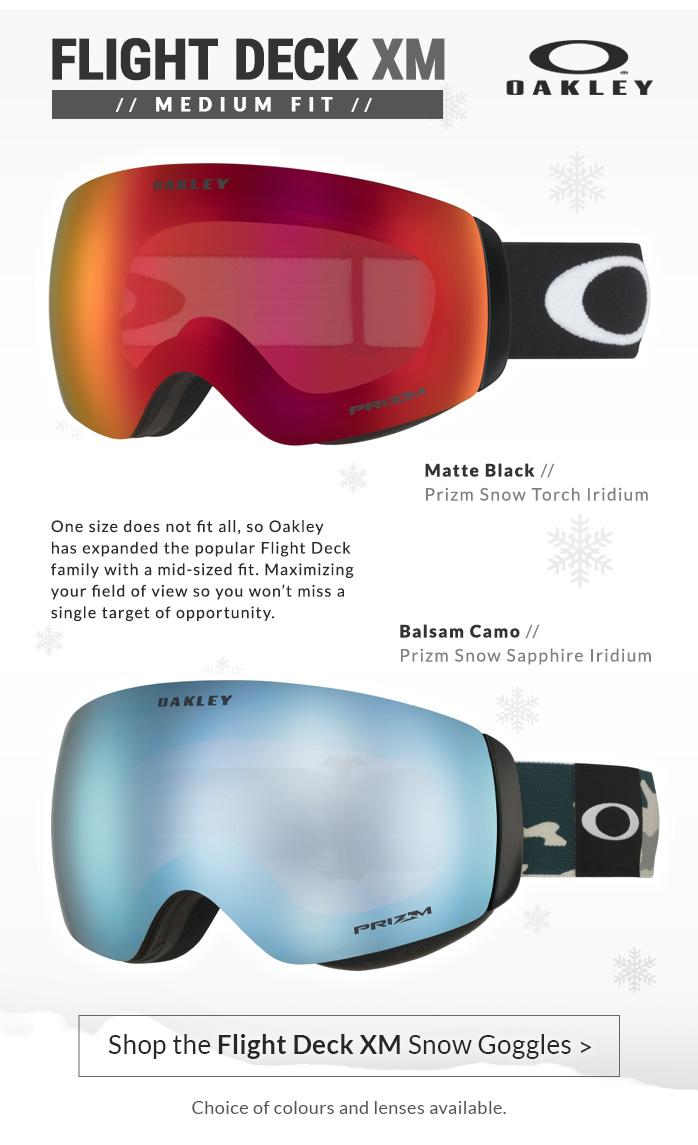 Oakley Flight-Deck XM Ski Goggles