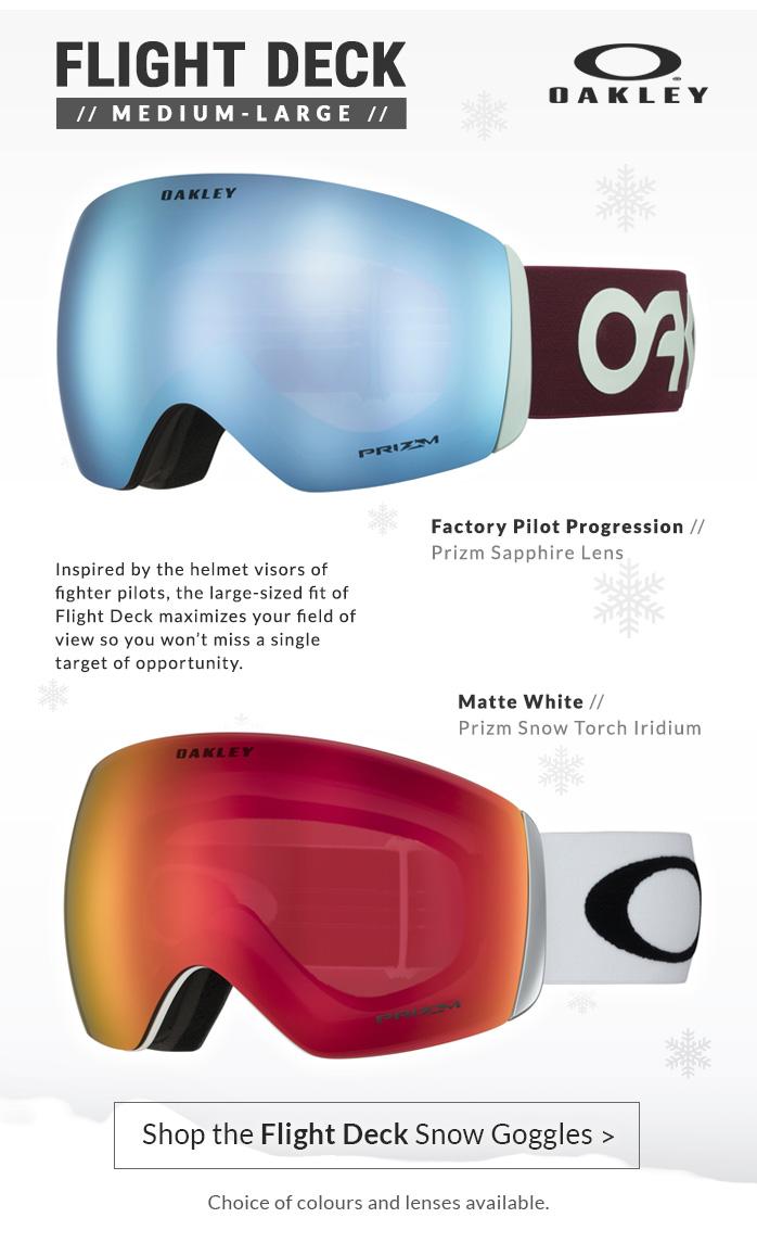Oakley Flight-Deck Ski Goggles