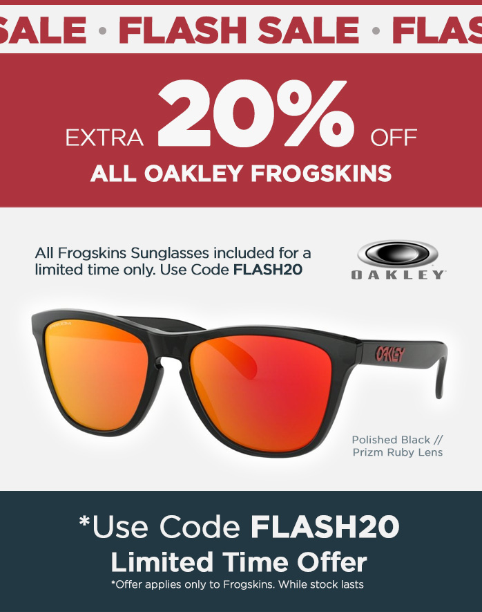 Flash Sale, Oakley Frogskins Flash Sale