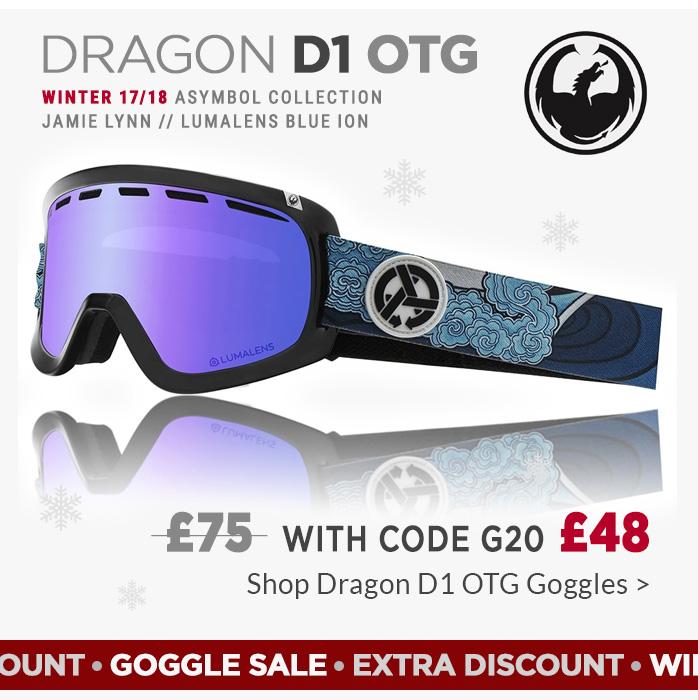 Dragon D1 Goggles