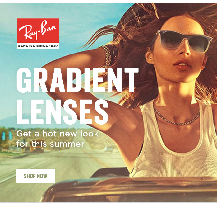 Shop by Gradient lenses, Oakley, Ray-Ban