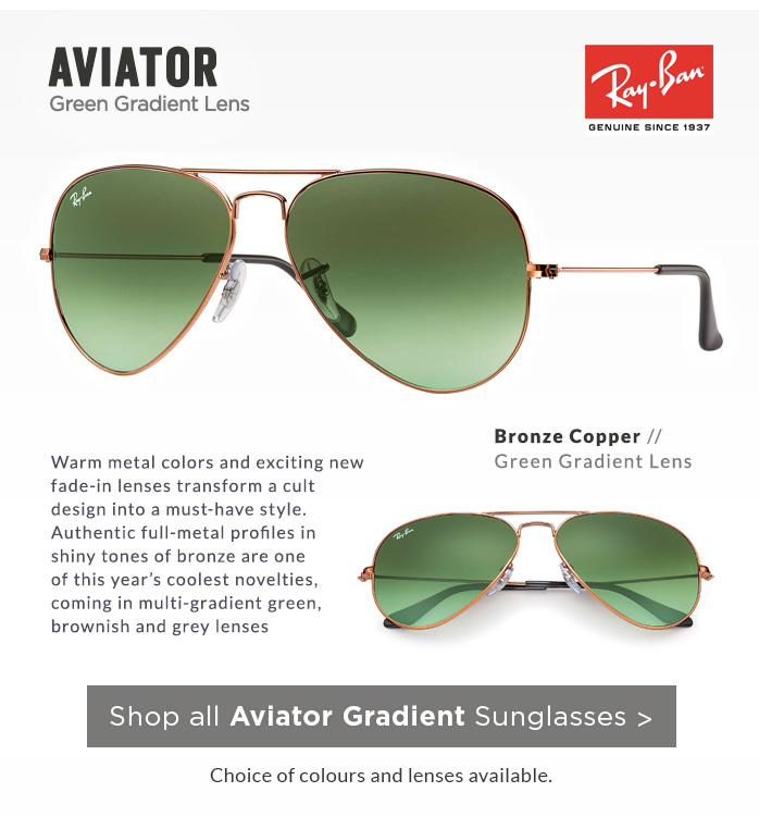 Shop by Style | Gradient Aviator