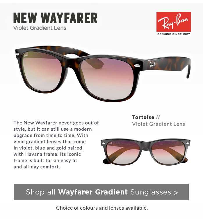 Shop by Style | Gradient New Wayfarer