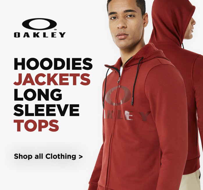 Oakley Hoodies, Fleeces and Long Sleeve Shirts, Extra 20% Off