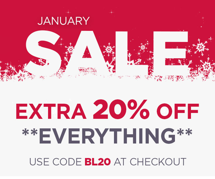 January Sale Discount