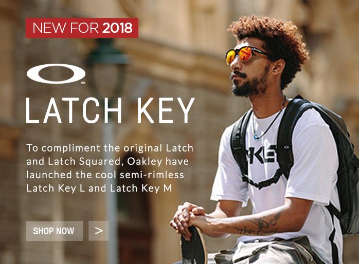 New 2018 Latch Key Sunglasses from Oakley