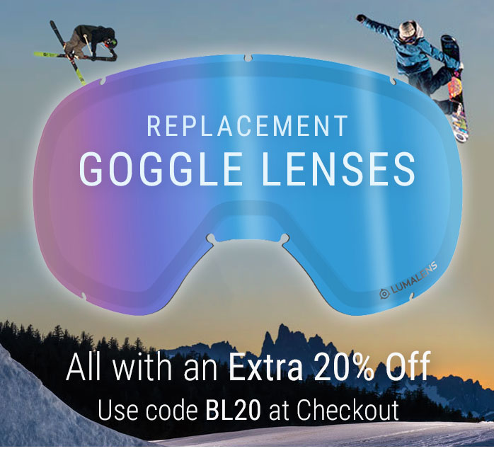 Goggle Replacement Lenses, Extra 20% Off