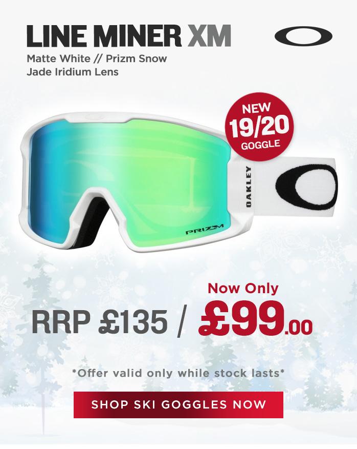 Oakley Goggle Sale - Line Miner XM