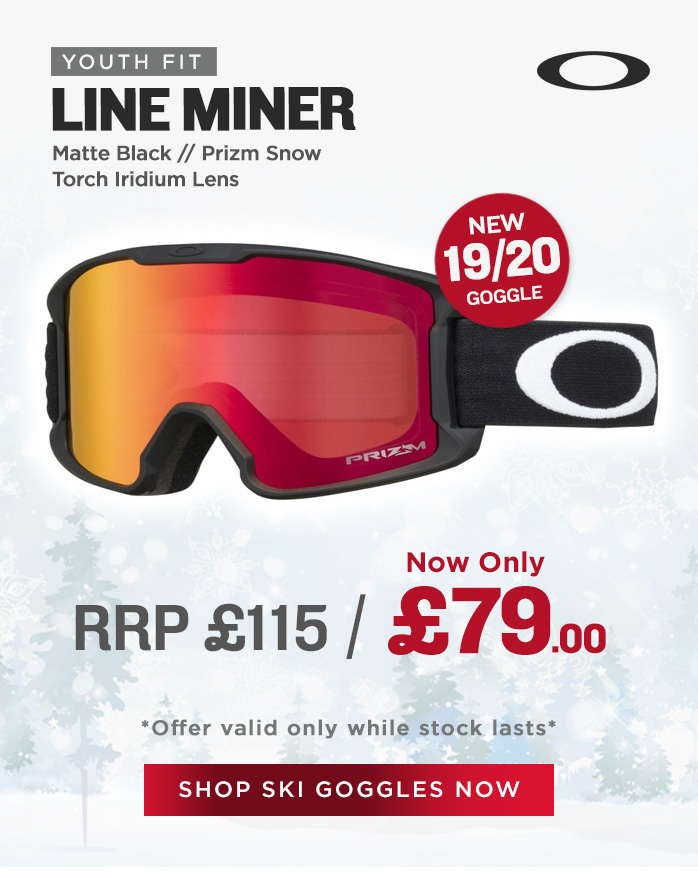 Oakley Goggle Sale - Line Miner Youth