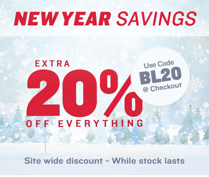 New Year Savings, Extra 20% Off