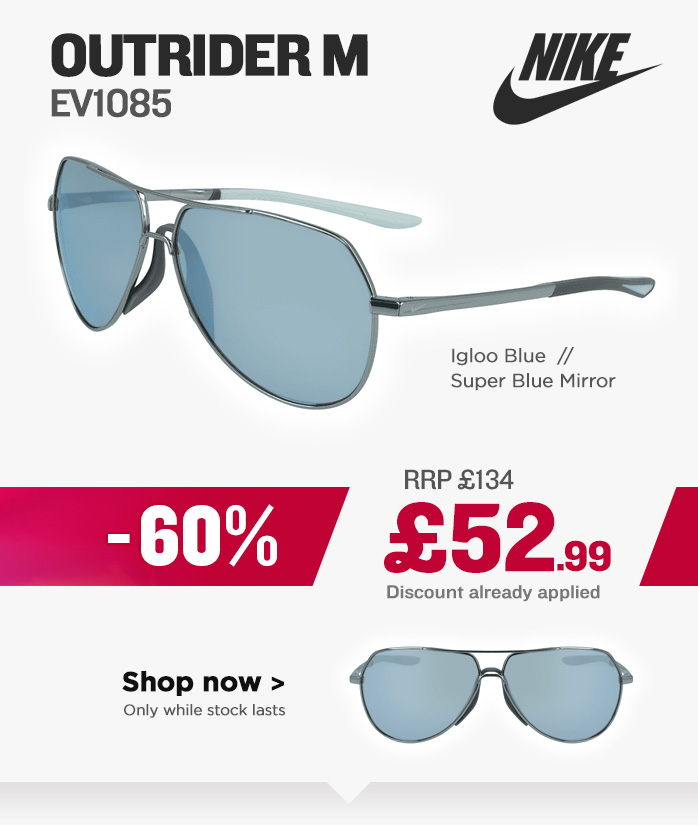 Nike Sunglasses Sale - Outrider