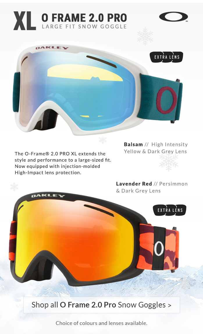 Oakley O Frame 2.0 Pro Ski Goggles