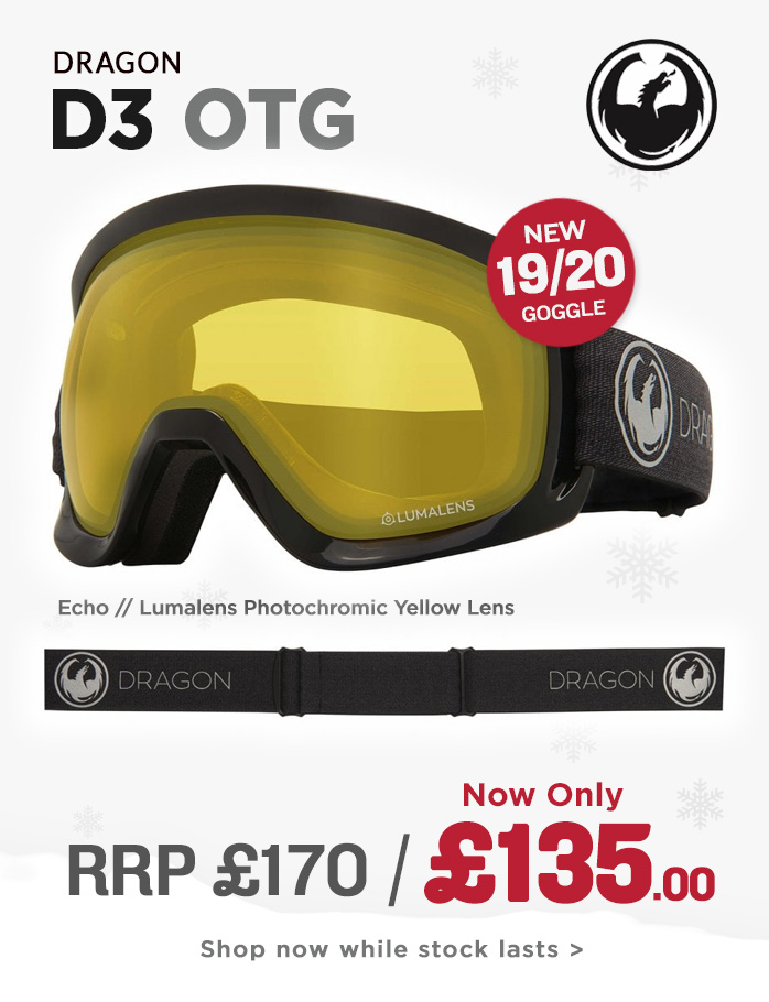 Dragon Goggle Sale - D3OTG