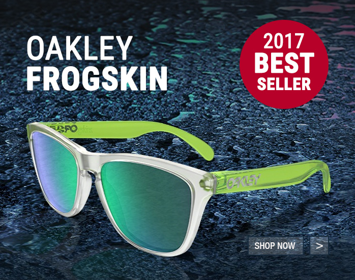 Best sellers: Oakley Frogskin