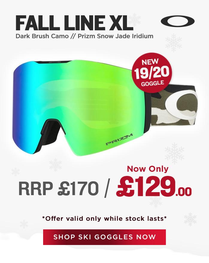 Oakley Goggle Sale - Fall Line XL