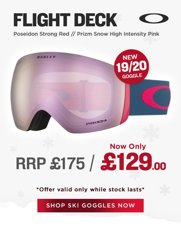 Oakley Goggle Sale - Flight Deck