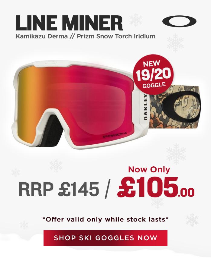 Oakley Goggle Sale - Line Miner