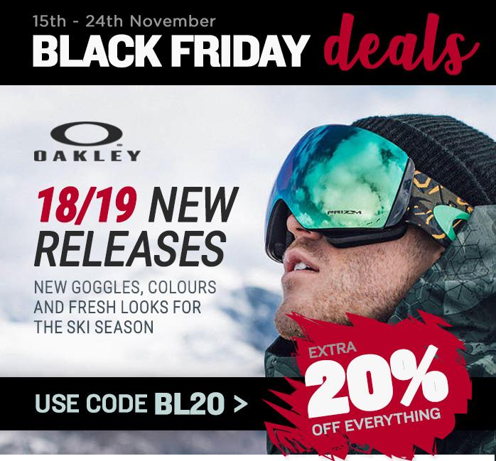 New 2018 Ski Goggles from Oakley