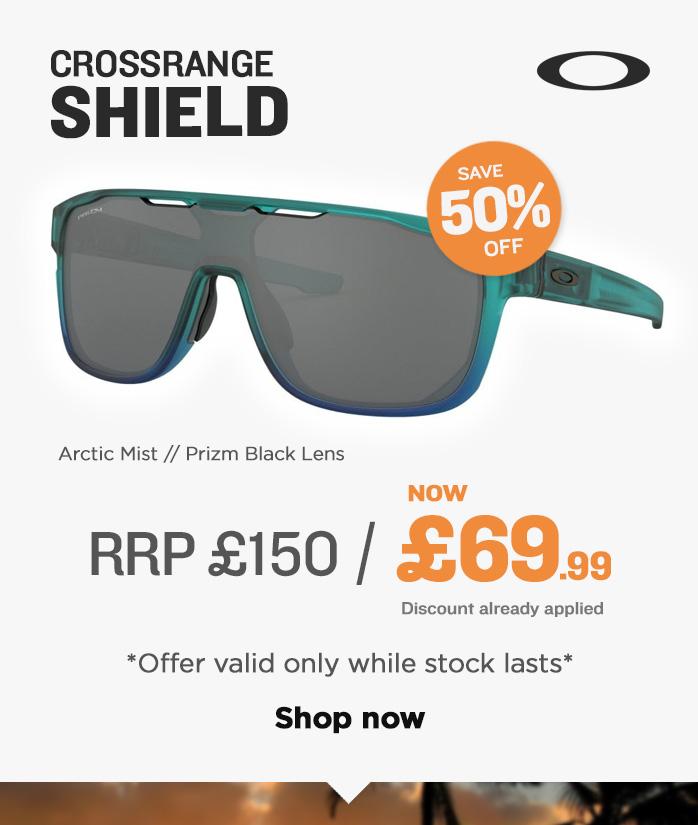 Oakley Sunglasses Sale - Crossrange Shield
