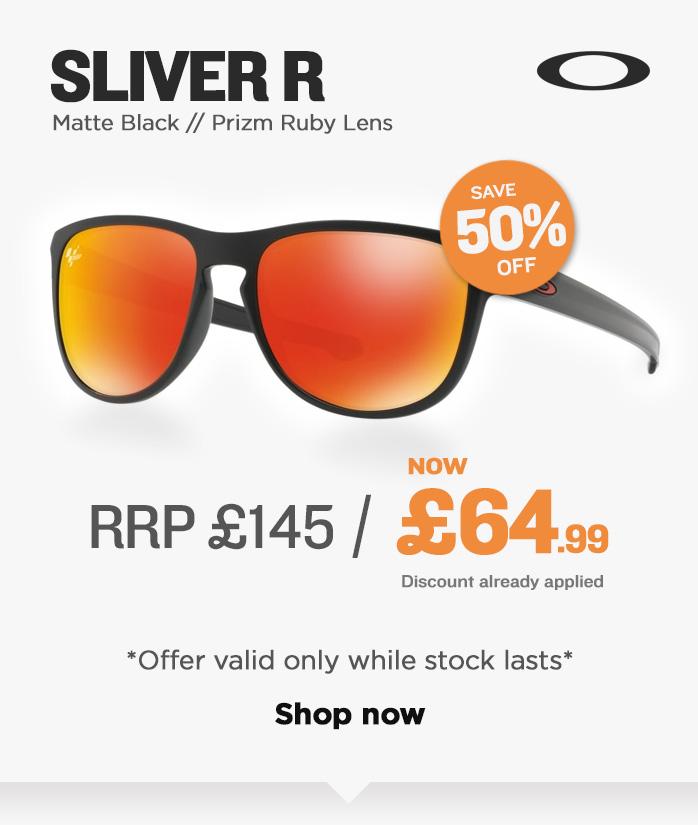 Oakley Sunglasses Sale - Sliver R