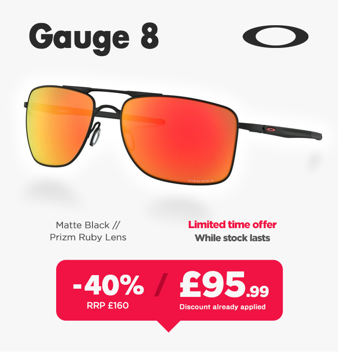 Oakley Sunglasses Sale - Gauge 8