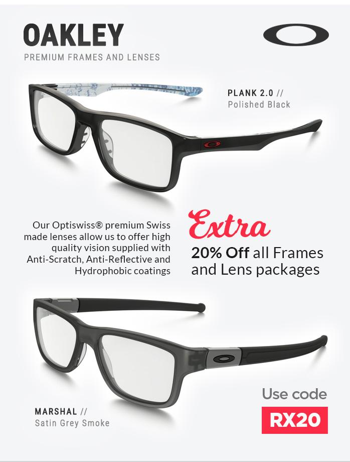 Oakley Glasses and Lenses