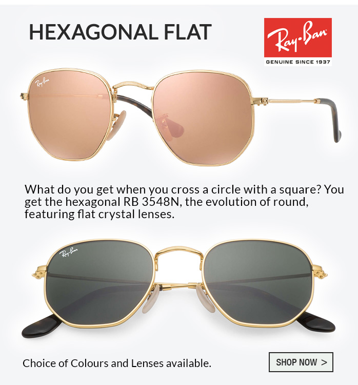 Ray-Ban Hexagonal Flat
