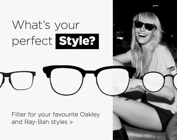 Shop by Style, Oakley, Ray-Ban