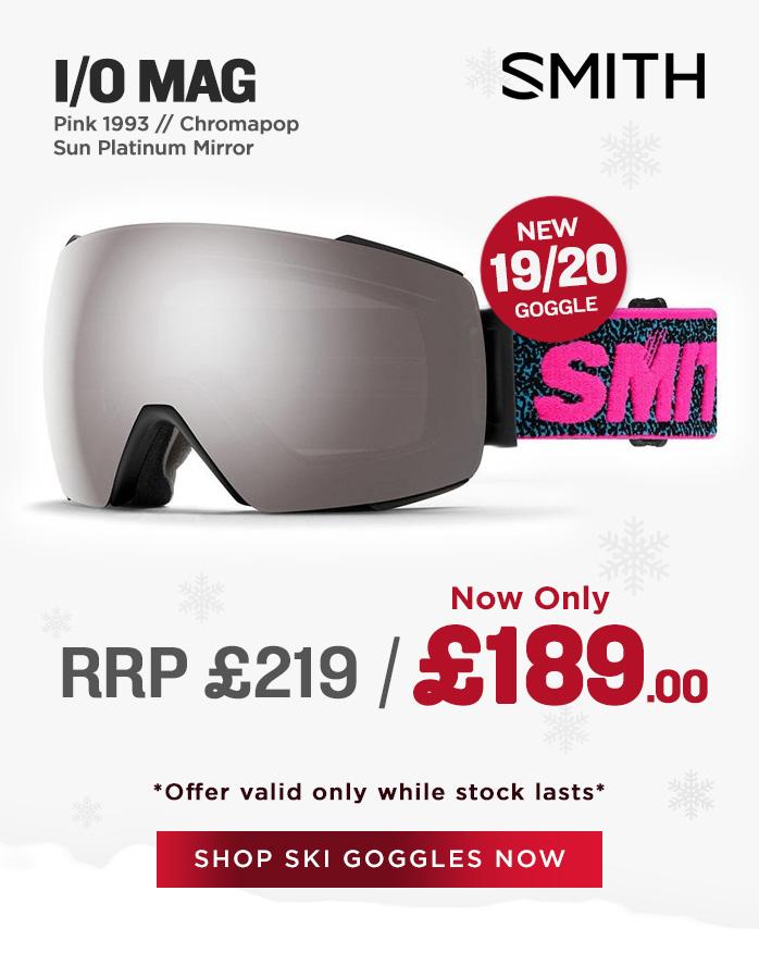 Smith Goggle Sale - I/O Mag
