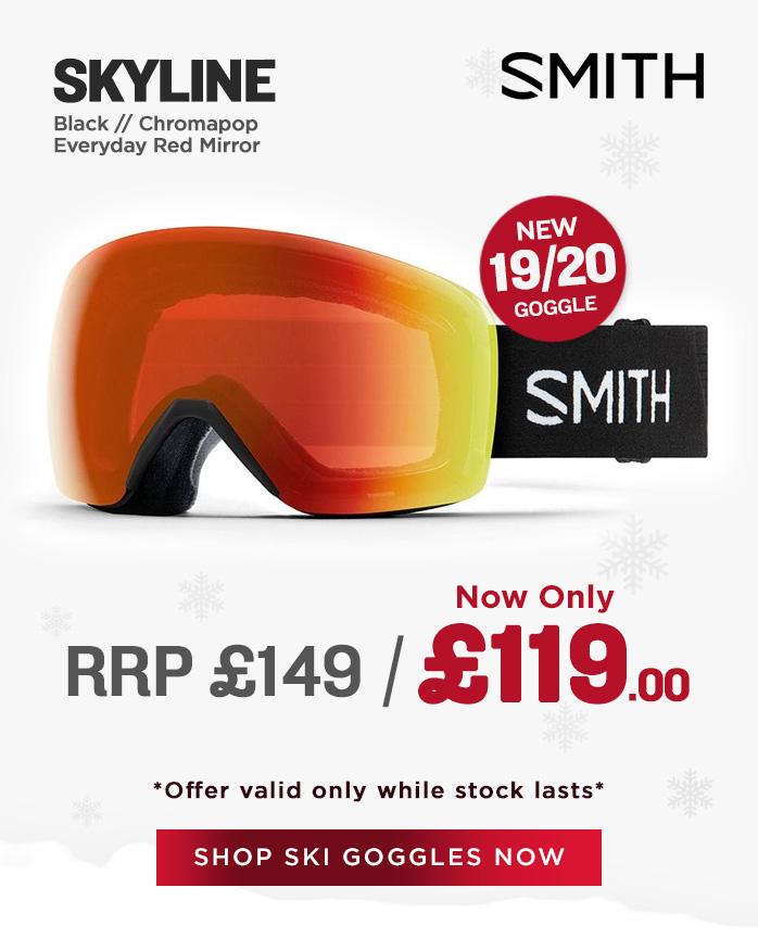 Smith Goggle Sale - Skyline