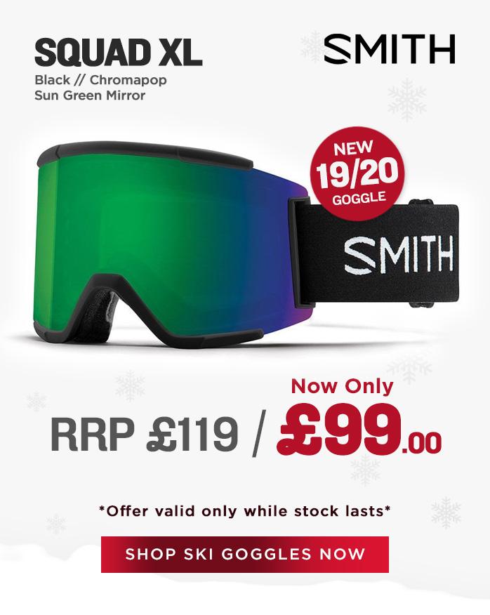 Smith Goggle Sale - Squad XL