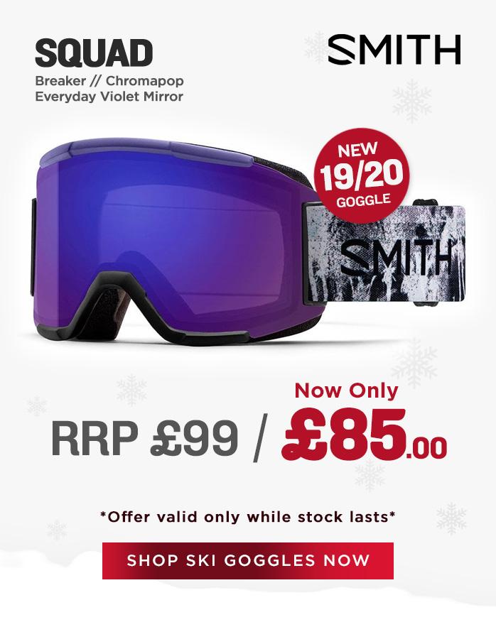 Smith Goggle Sale - Squad