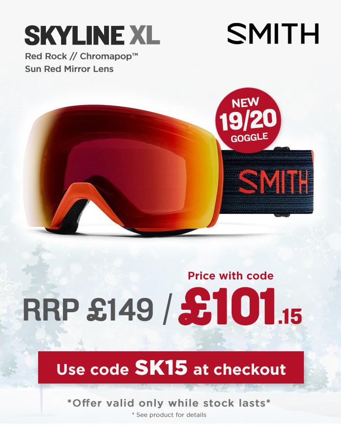 Smith Goggle Sale - Skyline XL