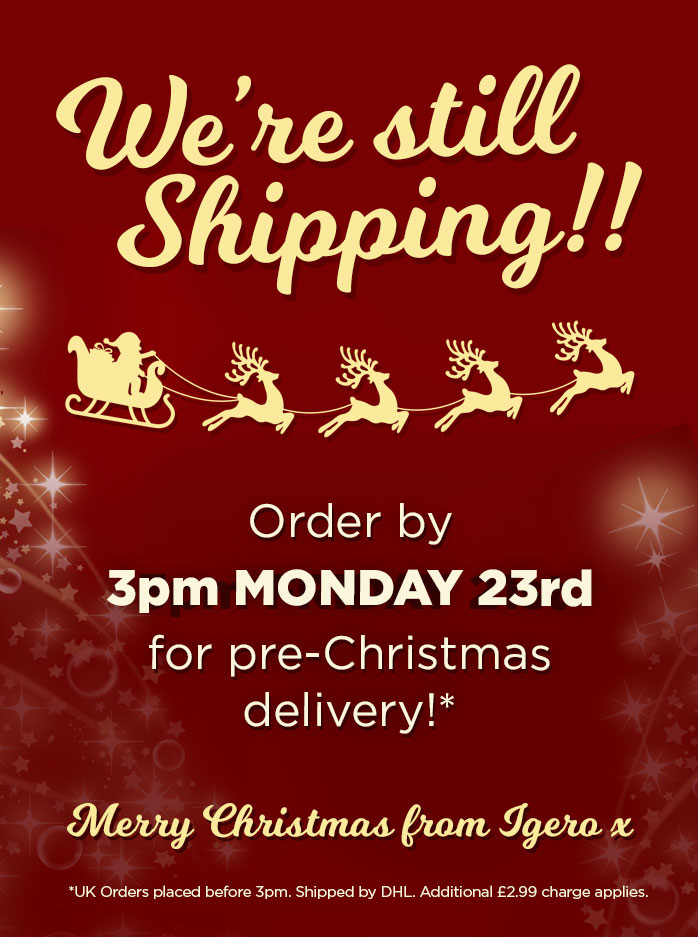Lasts chance for Christmas Delivery