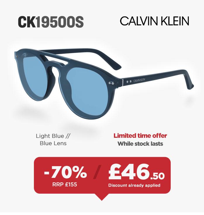 Sunglasses Sale - Calvin Klein CK19500S