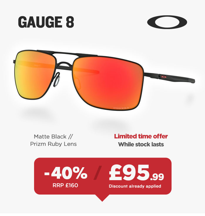 Sunglasses Sale - Oakley Gauge 8