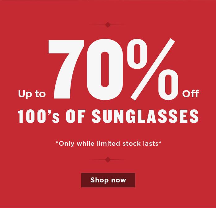 Massive Sunglasses Sale