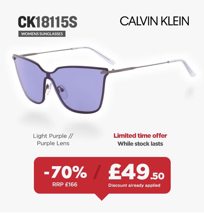 Sunglasses Sale - Calvin Klein CK18115S