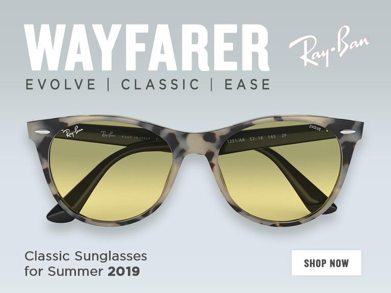 Shop all Ray-Ban Wayfarer Sunglasses