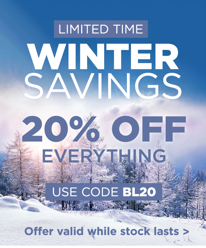 Winter Savings, Extra 20% Off