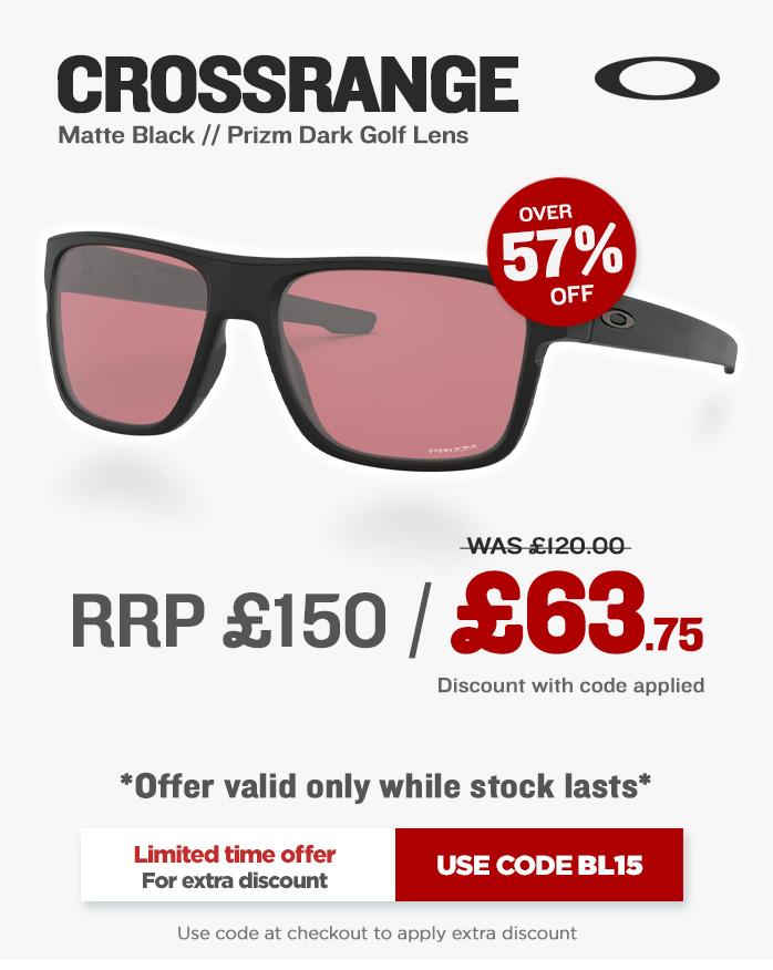 Xmas Oakley Crossrange Sunglasses