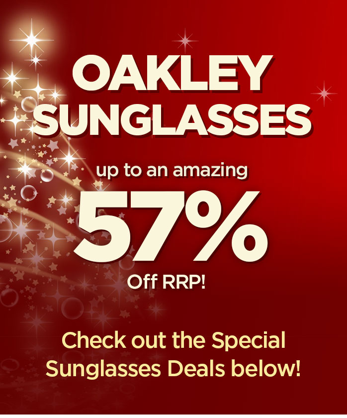 Christmas Sale - Up to 57% Off Oakley Sunglasses