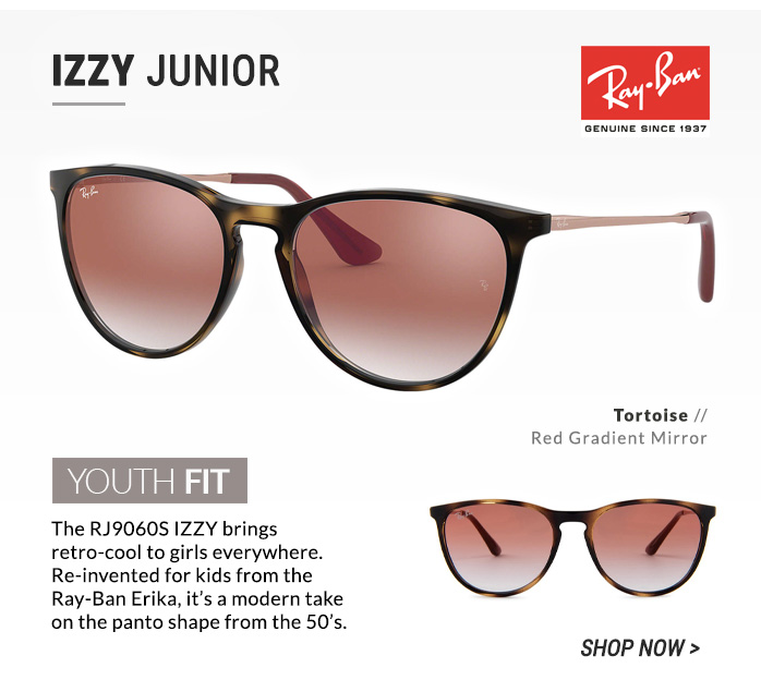 Shop Ray-Ban Izzy Junior