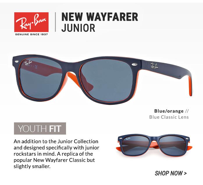 Shop Ray-Ban New Wayfarer Junior