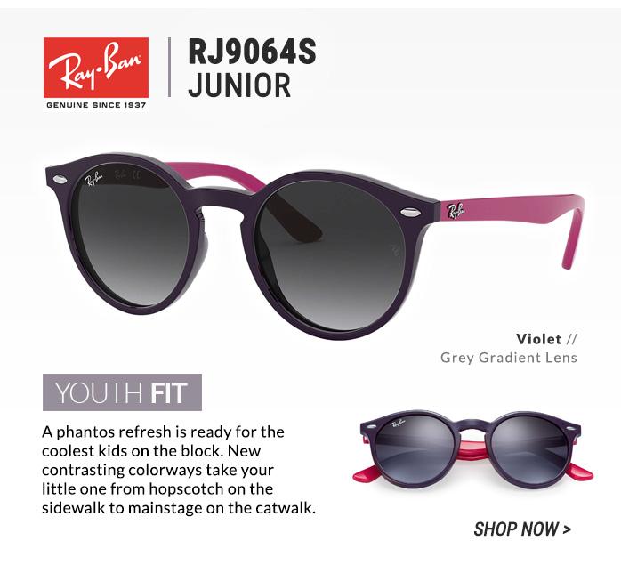 Shop Ray-Ban RJ9064S Junior
