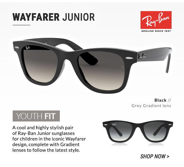 Shop Ray-Ban Wayfarer Junior
