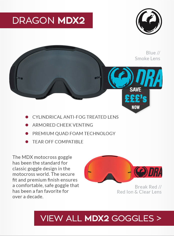 Dragon MDX2 Moto-X Goggles