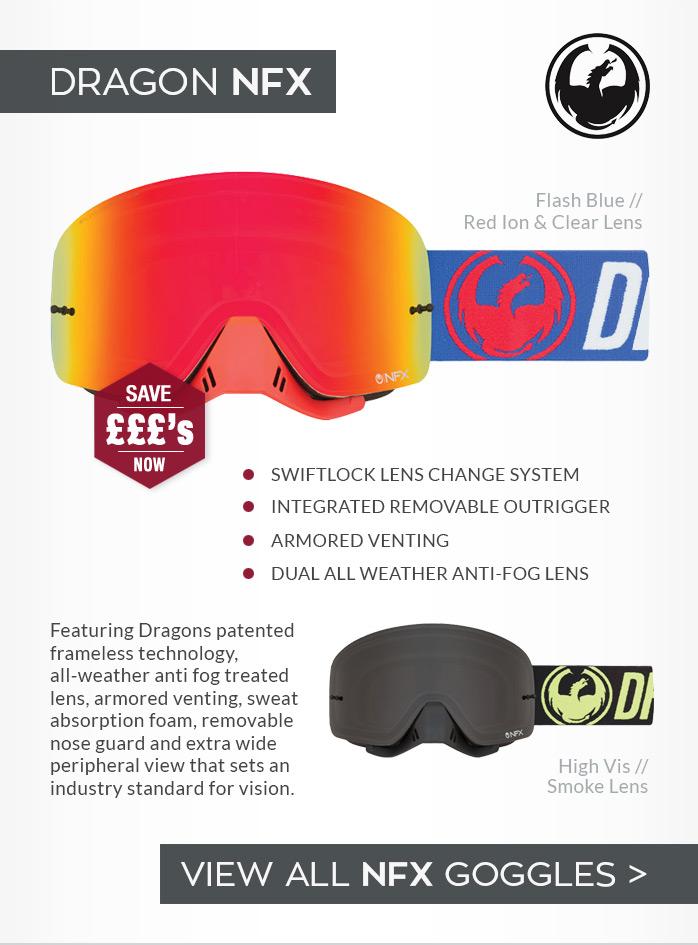 Dragon NFX Moto-X Goggles