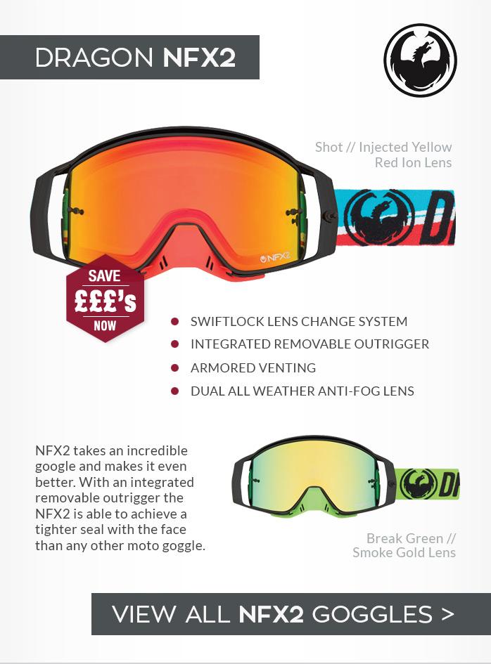 Dragon NFX2 Moto-X Goggles